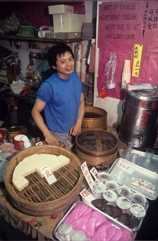 Chau Sau Yee, owner of a popular cake shop