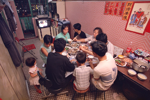 Chung Lo Ying and family,  long-time residents of the City