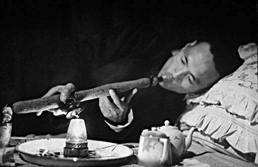 Smoking opium in the 1950s
