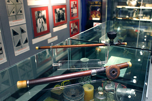 Opium pipes from the HK Police Museum collection