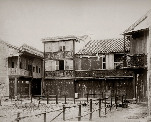 A gambling house and brothel in Kowloon City in 1898