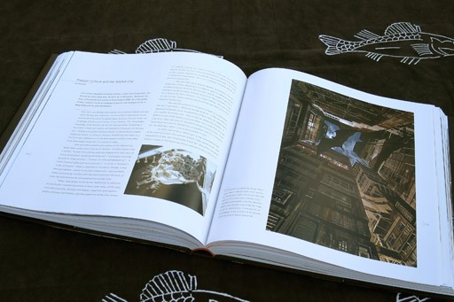 The opening spread of Popular Culture and the Walled City