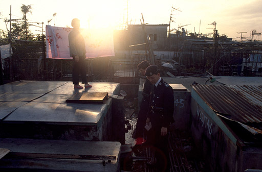The patrols traversed every part of the City, even the rooftops.